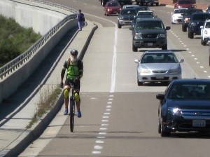 Bike lanes rule