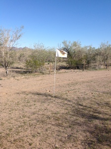 Mitchell Family Camp Association Golf course.  Hole 12