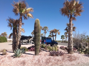 Camped two nights at Desert Palms RV Resort