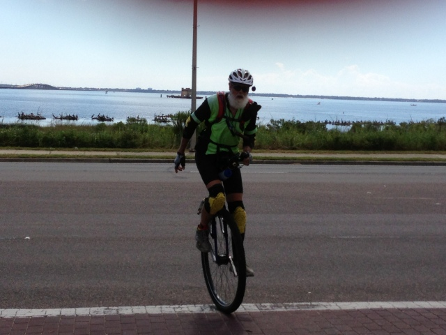 Finishing My Ride in Pensacola for the Day
