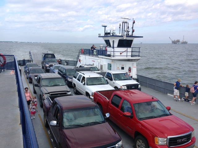 Crossing Mobile Bay by Ferry (cheater)